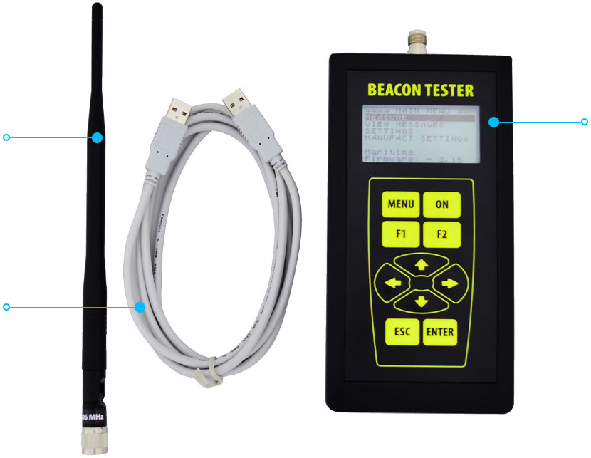 Beacon Tester 406 02 Complete Set