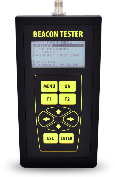 Beacon Tester 406 02 Overview