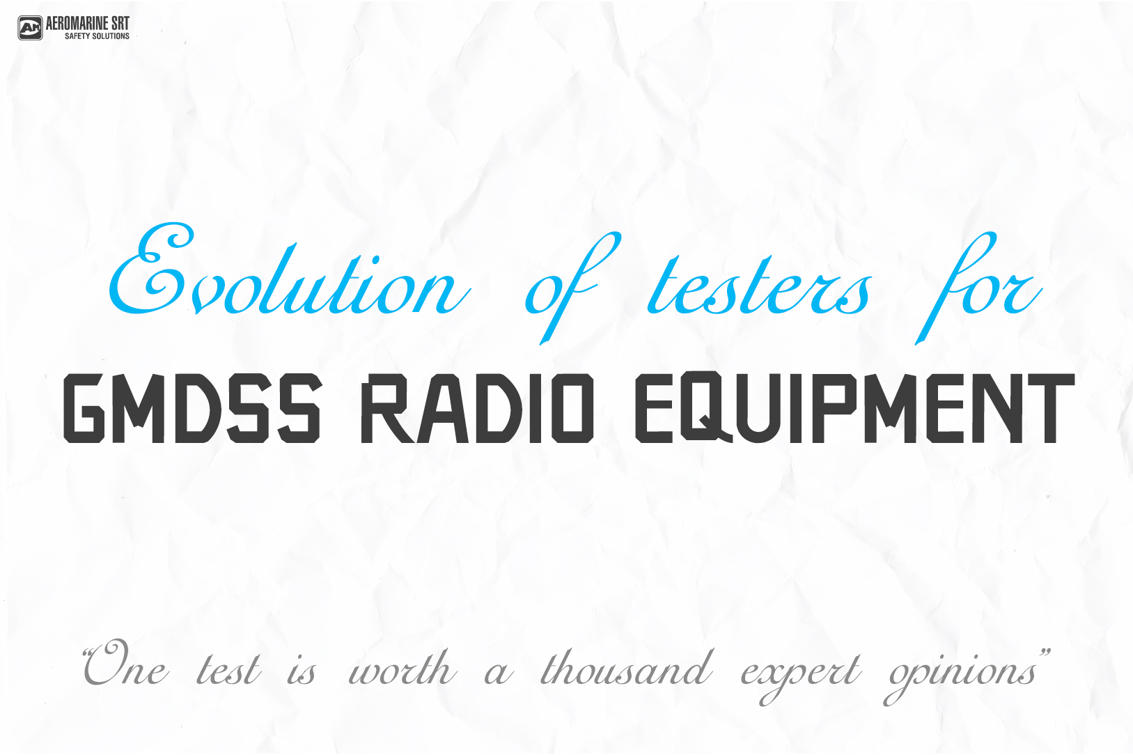 Evolution of testers for GMDSS radio equipment