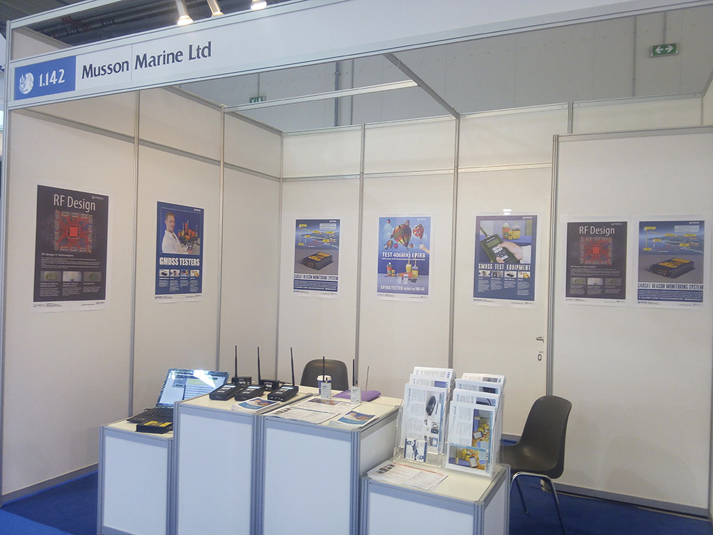 GMDSS Tester at Posidonia 2016