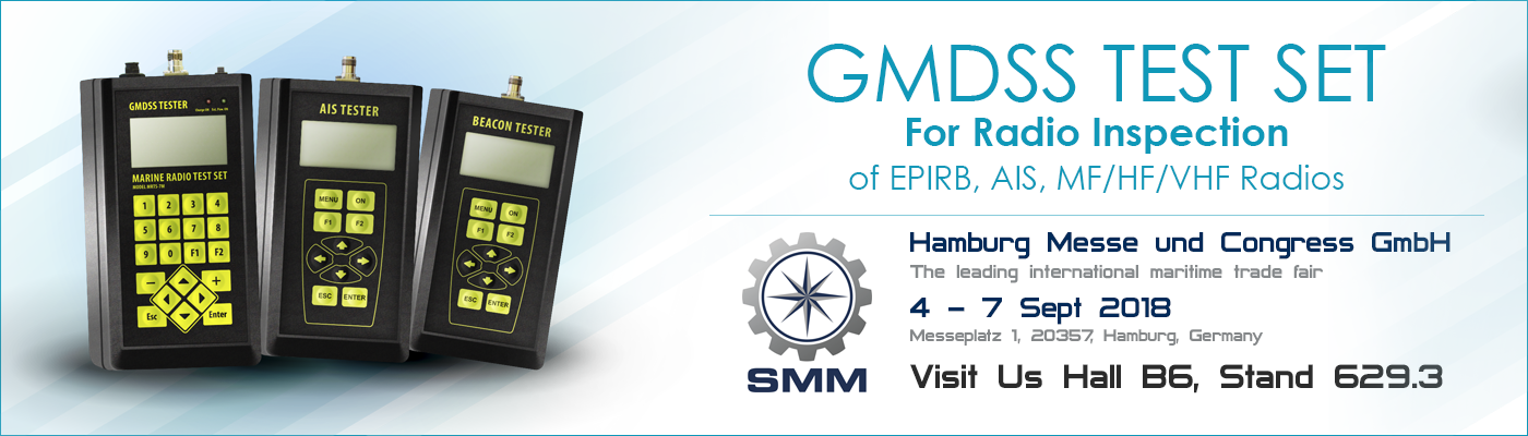 GMDSS Testers at SMM